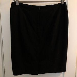 Sejour Black Pencil Skirt